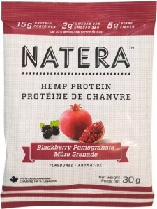 Natera Hemp Protein Blackberry & Pomegranate 12x30g