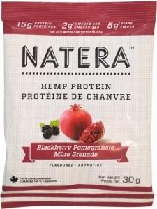 Natera Hemp Protein Blackberry & Pomegranate 12x30g
