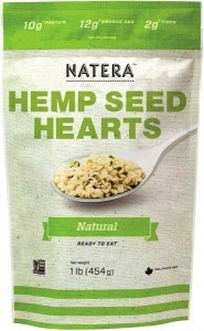 Natera Hemp Seed Hearts Natural 454g