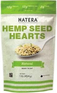 Natera Hemp Seed Hearts Natural 454g