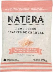 Natera Hemp Seed Sachet Himalayan Pink Salt 12x25g
