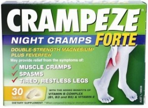 Natralia Crampeze Night Cramps FORTE 30Tabs
