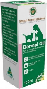 Natural Animal Solutions Dermal Oil 100ml APR21
