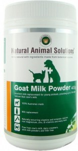 Natural Animal Solutions Goat Milk Powder 400g APR22