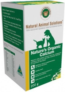 Natural Animal Solutions Nature's Calcium 200g AUG22