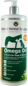 Natural Animal Solutions Omega Oil Dogs/Horse 1.1L