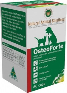 Natural Animal Solutions OsteoForte 60caps AUG20