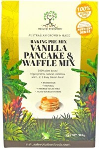 Natural Evolution Vanilla Pancake & Waffle Mix 385g
