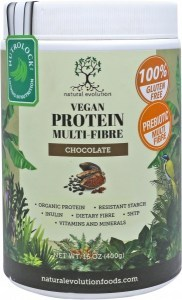 Natural Evolution Vegan Protein Multifibre Chocolate  400g