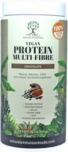 Natural Evolution Vegan Protein Multifibre Chocolate  800g