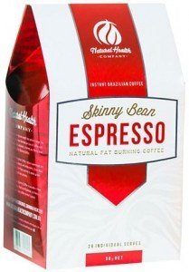 Skinny Bean Natural Fat Burning Coffee Espresso (28 sachets) 98g
