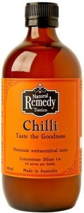 Natural Remedy Tonics Chilli  500ml