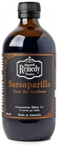 Natural Remedy Tonics Sarsaparilla G/F 500ml