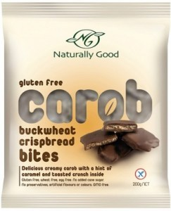 Naturally Good Carob Buckwheat Crispbread Bites 200g