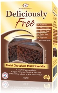 Naturally Good Moist Chocolate Mud Cake Mix 450g