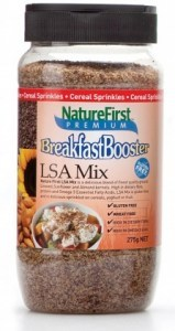 Natures First Breakfast Booster LSA Mix Shaker 275g