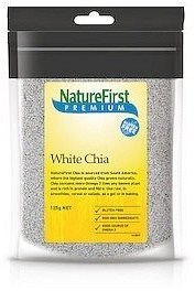 Nature First Chia Seeds White 125g