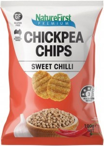 Nature First Chickpea with Sweet Chilli Chips 100g
