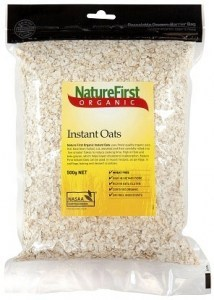 Natures First Organic Instant Oats 500gm