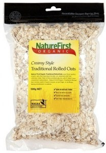 Nature First Organic Traditional Rolled Oats 500g