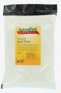Nature First Organic Wholemeal Spelt Flour 1kg
