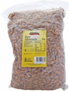 Nature First Refills Organic Raw Almonds (Bulk) 4Kg