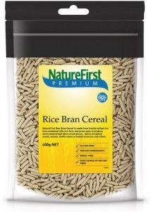 Nature First Rice Bran Cereal 400g