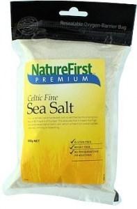Nature First Sea Salt Celtic Fine 500g