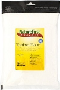 Nature First Tapioco Flour Organic 500g