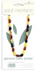 Natures Child Amber Necklace for Adults Mixed Colours