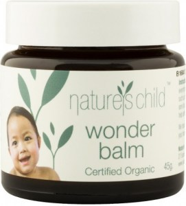 Natures Child Organic Wonder Balm 45g