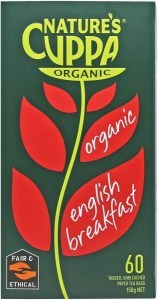 Natures Cuppa English Breakfast 60Teabags