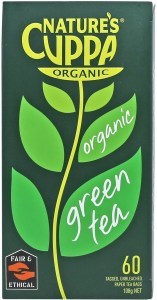 Natures Cuppa Green 60 Teabags 20%Extra