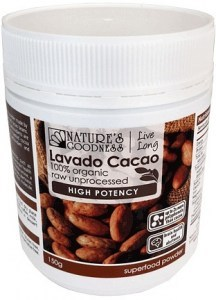 Natures Goodness High Potency Lavado Cacao Powder 150g