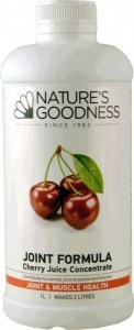 Natures Goodness Joint Formula Cherry Juice Concentrate 1L