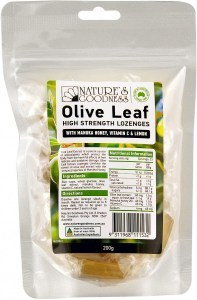 Natures Goodness Olive Leaf Lozenges 200g bag