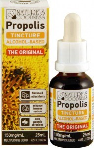 Natures Goodness Propolis Tincture 150mg/ml 25ml