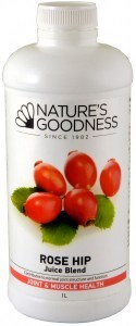 Natures Goodness Rose Hip Joint Care Juice 1Ltr