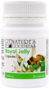 Natures Goodness Royal Jelly 1000mg 30caps
