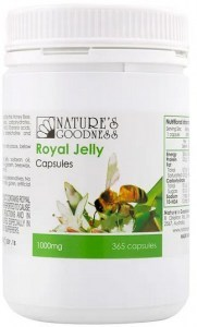 Natures Goodness Royal Jelly Capsules 1000mg 365caps