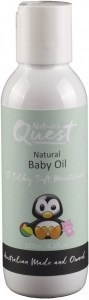 Nature's Quest Baby Massage Oil 125ml JAN21