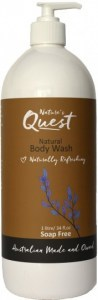 Nature's Quest Body Wash 1L