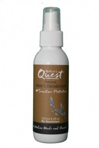 Nature's Quest Deodorant Mens 125ml