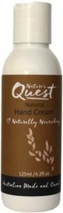 Nature's Quest Hand Cream 125ml