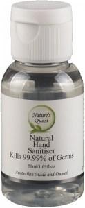Nature's Quest Hand Sanitiser 50ml