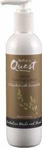 Nature's Quest Tanning Lotion 250ml MAY21