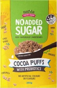 NatVia No Added Sugar Cocoa Puffs 250g