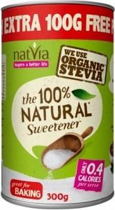 NatVia Sweetener 300g Canister