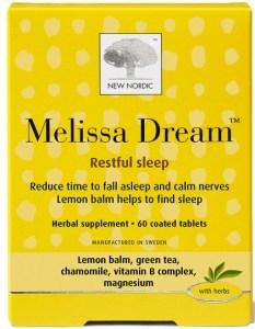 New Nordic Melissa Dream Restful Sleep 60Tabs