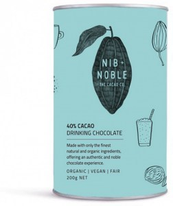 Nib & Noble Organic 40% Cacao Drinking Chocolate  200g